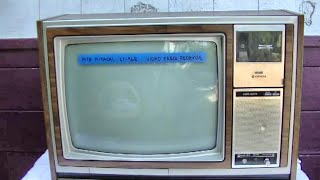 1978 Hitachi CT968 Color Telev…