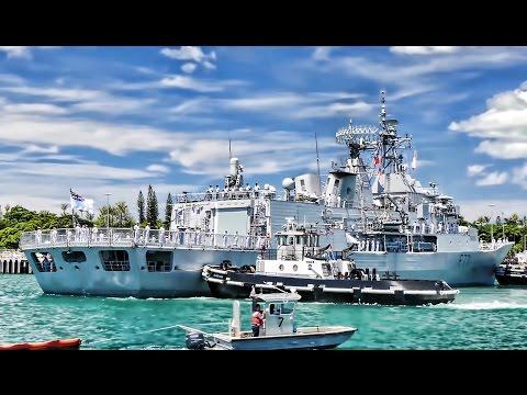 Warships Dock At Pearl Harbor Naval Base For RIMPAC 2016