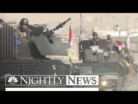 Mosul: Kurdish, Iraqi Troops Close In On ISIS | NBC Nightly News