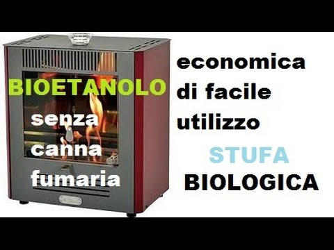 Stufa Bioetanolo Economica Ecologica Senza Canna Fumaria