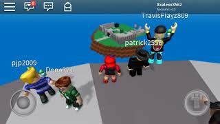 Playing ROBLOX survive the disaster with progamerXD572 and tigergaming3611
