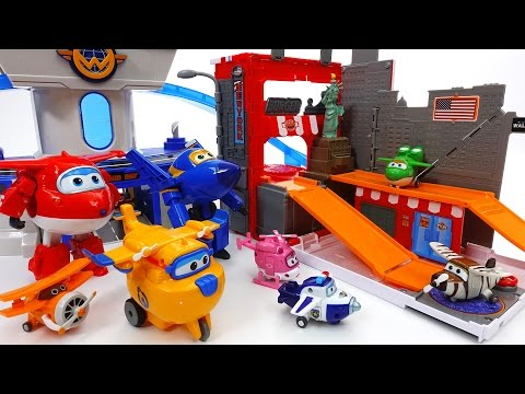 Thumbnail: A Gift Has Arrived~! Super Wings Pack 'N Go New York Playset