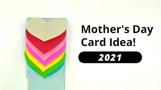 How to make mothers day card (Hearts Idea)