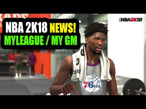 HUGE NBA 2K18 MY LEAGUE AND MY GM NEWS! THE NEXT CHAPTER! G-LEAGUE! SO MUCH MORE!!!!