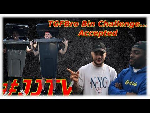 CRAZY WHEELIE BIN CHALLENGE... CALLING OUT TGFBRO!!!