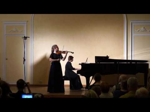 Синдинг, Кристиан - Романс для скрипки и фортепиано ми минор