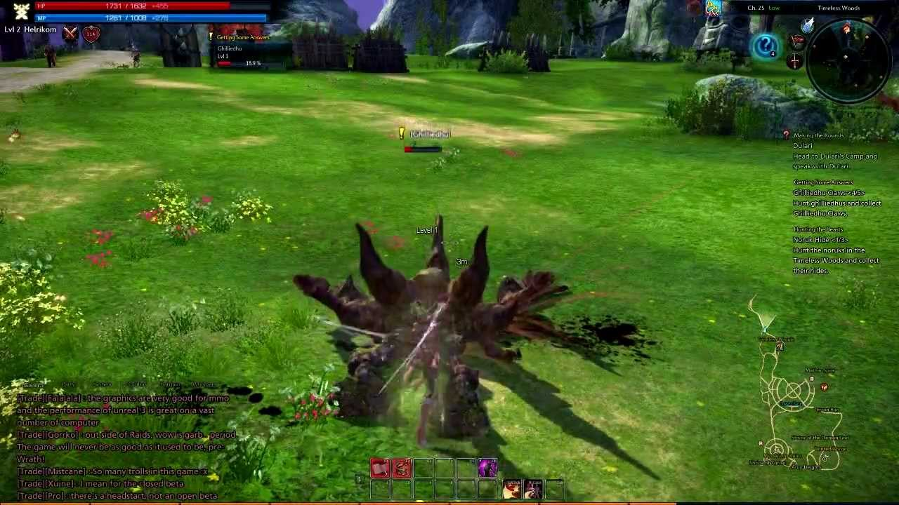 First Look - Tera Online Gameplay - YouTube