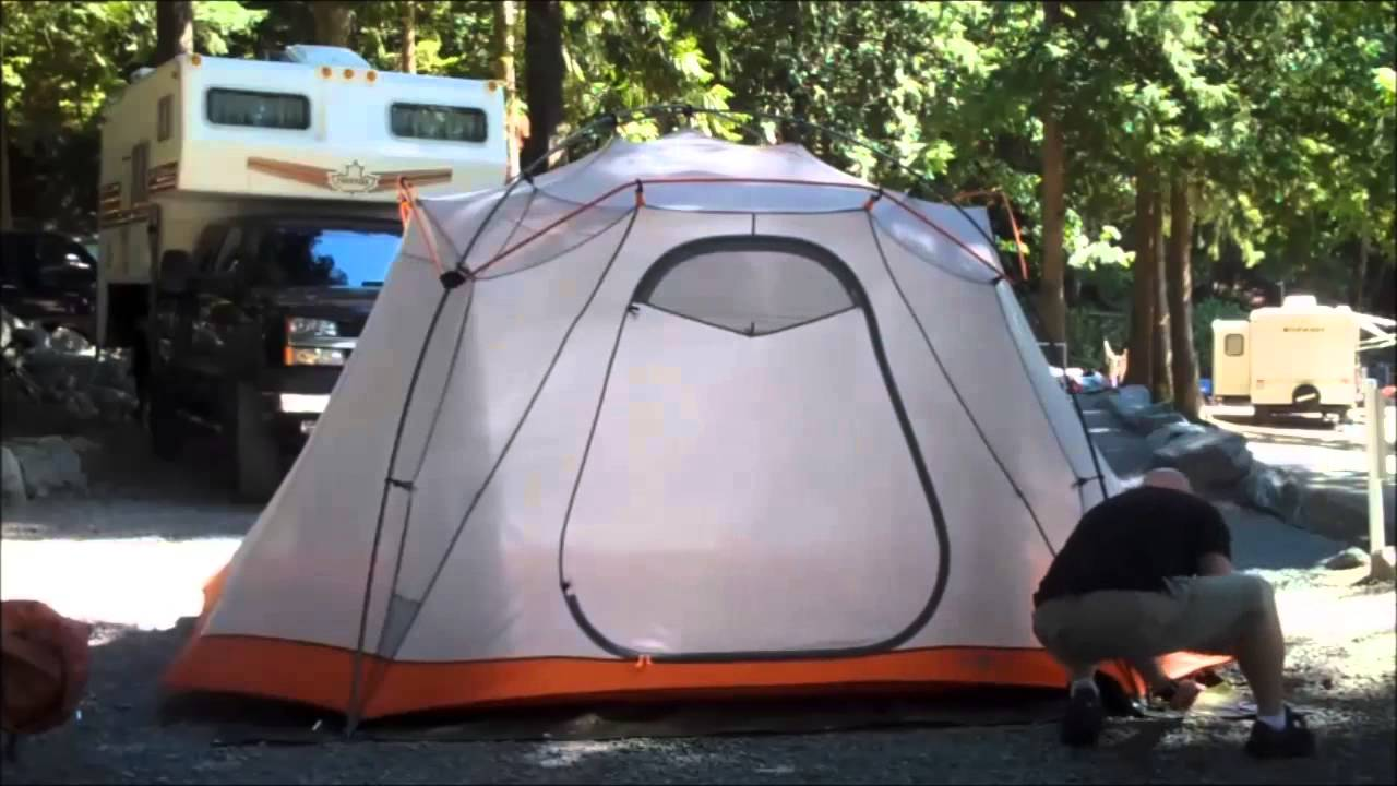 Setting Up the North Face Mountain Manor 6 tent at Cultus Lake - YouTube & Setting Up the North Face Mountain Manor 6 tent at Cultus Lake ...