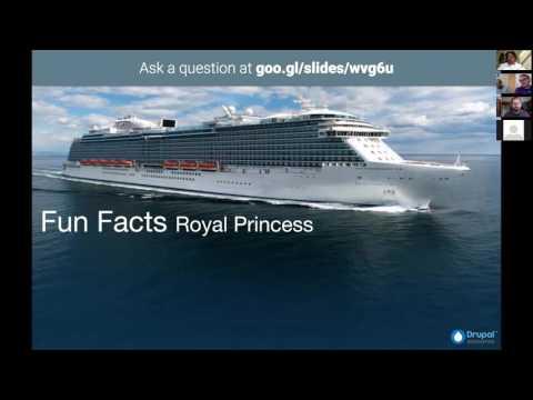 Princess Cruisess use Princess@Sea Drupal Application to Power On-Board Surveys