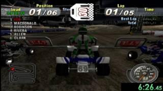 Speedrun: ATV Offroad Fury 3-Pro Supercross (Normal) [WR] [31m 36.77s]