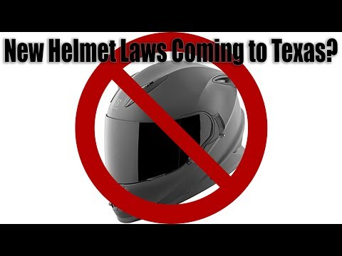 New Helmet Laws Coming to Texas?