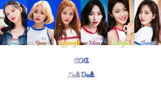 AOA (에이오에이) - Ladi Dadi Han/Rom/Eng Color Coded Lyrics
