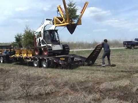 Dirt Works Skid Steer Tractor 30 Quot Tree Spade Amp Tree Pods
