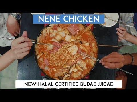 Halal Certified Budae Jigae From NeNe Chicken