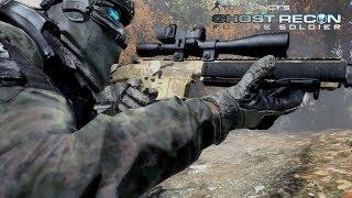 Ghost Recon Future Soldier: Stealth Marksmanship Gameplay