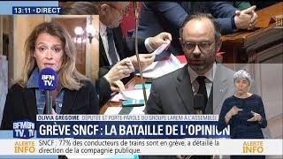 Olivia Grégoire sur la réforme de la SNCF - BFM TV