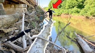 CRAZY Angler Tries EVERYTHING to Catch a Fish!!! (Exploring a NEW River)