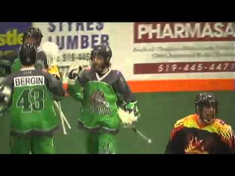 CLax - Durham Turfdogs vs Ohsweken Demons - Mar 28, 2015 - Semi Final