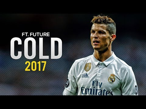 Cristiano Ronaldo  Maroon 5  Cold ft Future  Skills & Goals 2017  HD