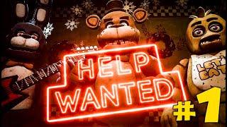 Five Nights At Freddy's Help Wanted Прохождение #1 - ПЛЮШКИН ПАТЧ! - ИНДИ ХОРРОР ИГРА