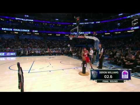 NBA Skills Challenge 2012 @ Orlando Part 3/3