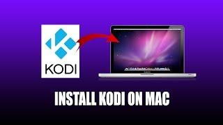Install Kodi Mac