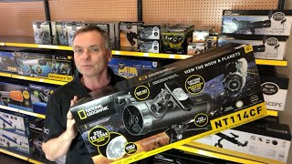 How to Assemble and Use the National Geographic NT114CF Newtonian Telescope