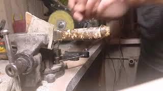 Как сделать нож (финка) 2 часть