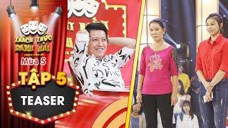 Thách thức danh hài 5| Teaser tập 5: Trường Giang cười gục mặt khi thí sinh bị mẹ ruột tát thẳng tay