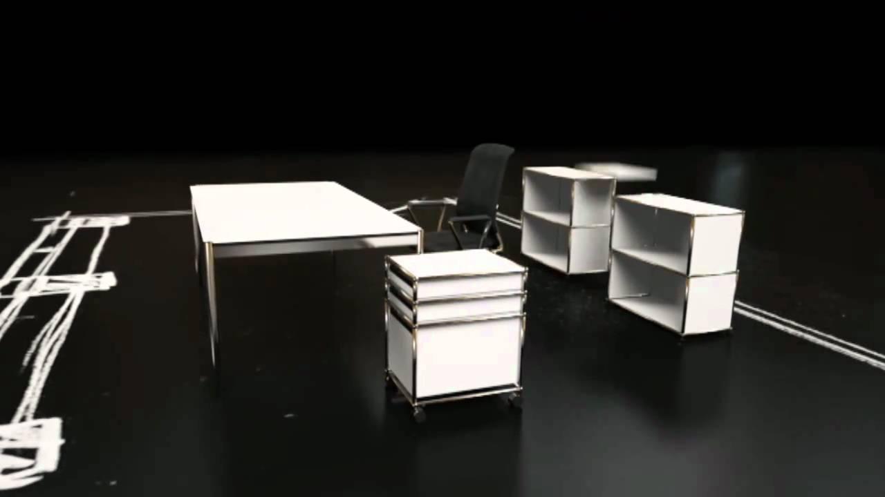 usm haller m belbausysteme youtube. Black Bedroom Furniture Sets. Home Design Ideas