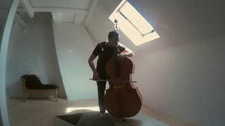 Bowing Thomastik Spirocores on Double Bass