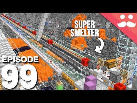 Hermitcraft 6: Episode 99 - 148 Furnace Super Smelter