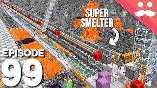 Hermitcraft 6: Episode 99 - 148 Furnace Super Smelter
