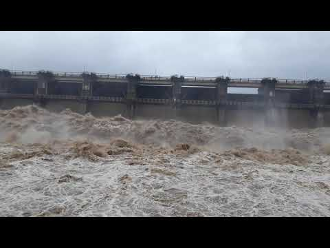 Huge Amount of Water Released From Palkhed Dam [2019]