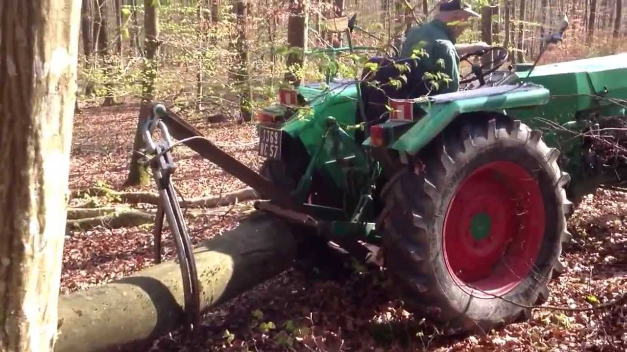 Pinceà grumes YouTube # Pince A Bois Pour Tracteur