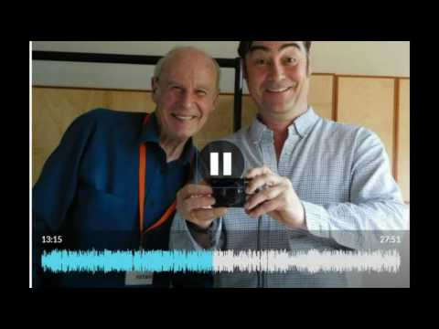 John Hannam meets Nathaniel Parker