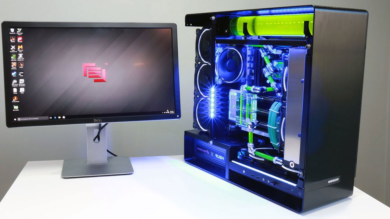 Maingear RUSH SuperStock X99 Killer Gaming PC Review