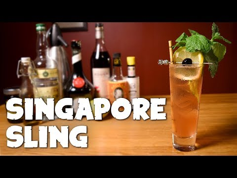 how to make a sling drink