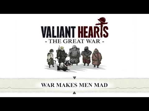 Valiant Hearts: The Great War - War Makes Men Mad - OST - Bonus: Piano Sheet