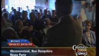Tancredo New Hampshire House Party on C-SPAN