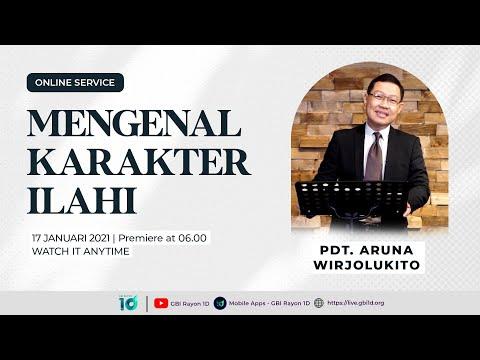 Ibadah Online GBI Rayon 1D - Minggu 17 Januari 2021