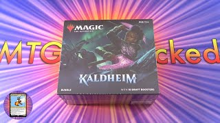 Kaldheim Bundle Unboxing - MYTHIC!