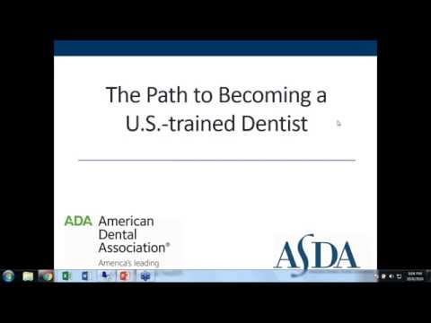 The Path to Becoming a U.S.-Trained Dentist - Predental Week