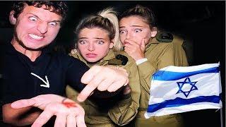 Israeli Army Reacts To Magic!  (Israel) -  Julius Dein Street Magic