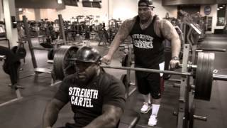 BIG BOY and Mike Rashid | 315 for 100 reps bench press battle