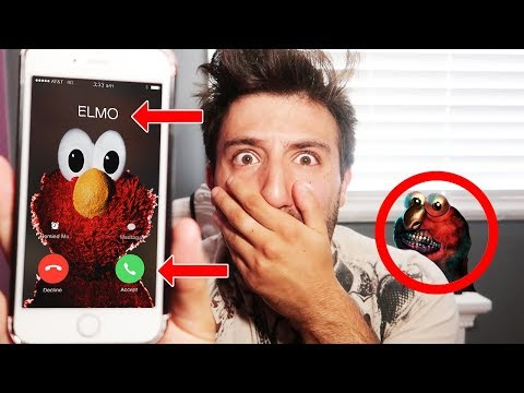 (ELMO TELEPORTS?!) DONT CALL ELMO ON FACETIME AT 3 AM | ELMO CALLED ME BACK & CAME LOOKING FOR ME!