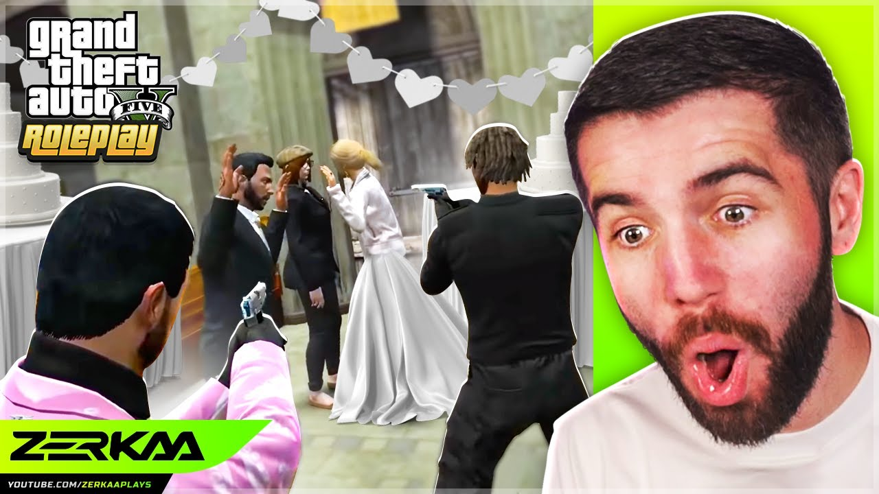 STOPPING A WEDDING In GTA 5 RP!