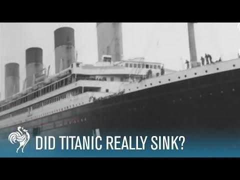 Did Titanic Really Sink?  | British Pathé