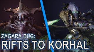 Starcraft II Co-Op BUG: Zagara's Infinite Splitter Banelings