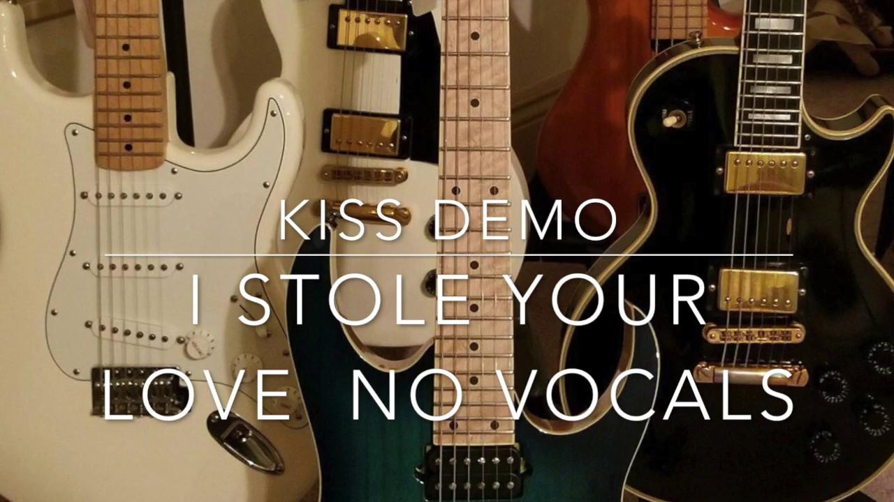 ampia selezione di design genuino limpido in vista Kiss Cover I stole Your Love No Vocals